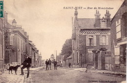 60  _  SAINT - JUST  _  Rue  De  Montdidier  _ - Saint Just En Chaussee