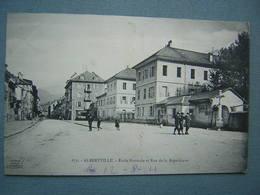 ALBERTVILLE - ECOLE NORMALE RUE DE LA REPUBLIQUE - Albertville