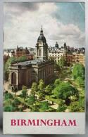 Birmingham - Britain's Second City - 1951 - 48 Pages 20,4 X 12,5 Cm - Exploration/Voyages