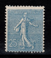 Semeuse Lignée YV 132 N* (trace) Cote 80 Euros - France