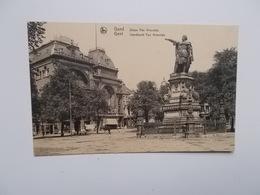 GENT -  Standbeeld Jacob Van Artevelde -- NO  REPRO - Gent