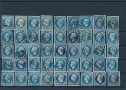 20 C Bleu X 45 Nuances, B. - 1853-1860 Napoléon III.