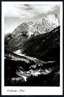 B5532 - TOP Hinterriß Hinterriss - Karvendel Karvendelgebirge - Stempel Hotel Post - Max Stadler - Schwaz