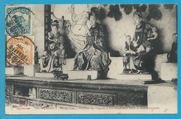 Asie****Chine - Yunnan - Mong-Tzeu - Intérieur De Pagode à Sin-Gnan-Soo (rare Voyagée,phi) - Chine