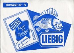 BUVARD LIEBIG Soupe De Poissons - Potages & Sauces