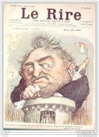 LE RIRE-1900-276-JOURNAL HUMORISTIQUE-LEANDRE,FAIVRE,LE PETIT - Books, Magazines, Comics