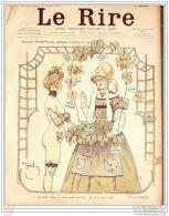 LE RIRE-1900-310-JOURNAL HUMORISTIQUE-AVELOT,GERBAULT,LEANDRE,TIRET BOGNET - Books, Magazines, Comics