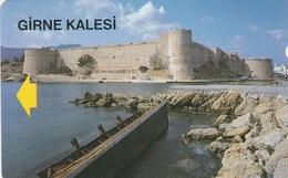 Northern Cyprus - Girne Kalesi (Kyrenia Castle) - Phonecards