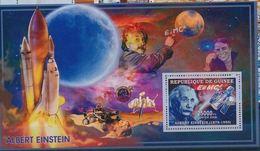 Guinée 2006 Albert EINSTEIN Space Espace Sheetlet - Albert Einstein