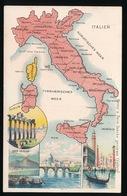 LANDKAART  - ITALIEN - ITALIE - Landkaarten