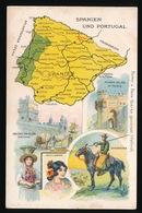 LANDKAART  - SPANIEN UND PORTUGAL - Landkaarten