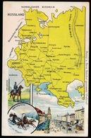 LANDKAART  - RUSSLAND - Landkaarten