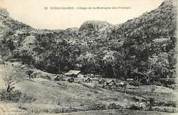 Pays Div : Ref M220- Diego Suarez - Village De La Montagne Des Francais - Carte Bon Etat  - - Madagascar
