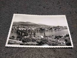 ANTIQUE PHOTO POSTCARD PORTUGAL VALENÇA - PONTE INTERNACIONAL E FRONTEIRA ESPANHOLA - CIRCULATED 1957 - Viana Do Castelo