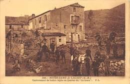 06-NOTRE-DAME-DE-LAGHET- CANTONNEMENT DE  SOLDATS AU QUATIER DIT- LA GOURA - Autres Communes