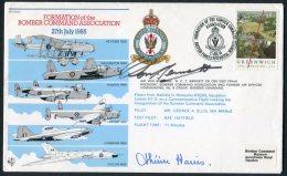 1985 GB BFPS Bomber Command RAF Flight Cover. Signed By 'Bomber Harris' Widow - 1952-.... (Elizabeth II)