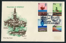 1978 GB Energy First Day Cover. British Speedway, Gulf Oil League FDC - FDC