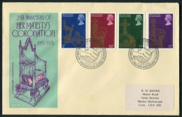 1978 GB Coronation First Day Cover. Worthing, West Sussex FDC - FDC