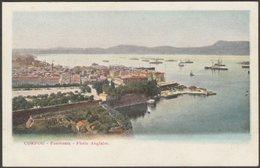 Panorama, Flotte Anglaise, Corfou, C.1900-05 - U/B CPA - Greece