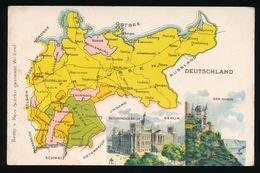 LANDKAART  - DEUTSCHLAND - Landkaarten