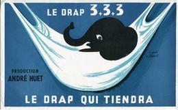 BUVARD Le Drap 3+3+3 Production André Huet - Textile & Clothing