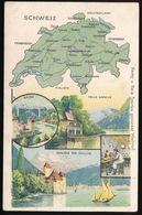 LANDKAART  - SCHWEIZ - Landkaarten