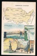 LANDKAART  - VEREINIGDE STATEN - Landkaarten
