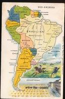 LANDKAART  - SUD AMERIKA - Landkaarten
