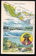LANDKAART  - MITTEL AMERIKA - Landkaarten