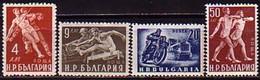 Sport - Bulgaria / Bulgarie  1949 -  Set (Mi No 704-7) MNH** - Non Classés