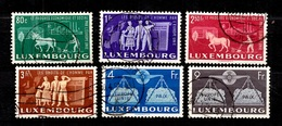Luxembourg YT N° 443/448 Oblitérés. B/TB. A Saisir! - Luxembourg