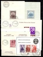 Belgique Huit Blocs-feuillets Neufs * Et Oblitérés 1936/1958. Bonnes Valeurs. B/TB. A Saisir! - Blocks & Sheetlets 1924-1960