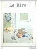 LE RIRE-1907-238-JOURNAL HUMORISTIQUE-RABIER,DELAW,HUARD,FABIANO,POURRIOL,BURRET - Books, Magazines, Comics