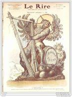 LE RIRE-1908-285-JOURNAL HUMORISTIQUE-LEANDRE BURRET FAU WELY RABIER GUYDO - Books, Magazines, Comics