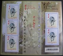 PTT/179 - NOUVEL AN CHINOIS - ANNEE DU BUFFLE - BLOC N°F4325 NEUF** - Sheetlets