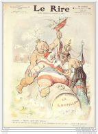 LE RIRE-1909-340-JOURNAL HUMORISTIQUE-LEANDRE ROUBILLE BRUNESCHELLI POURRIOL - Books, Magazines, Comics