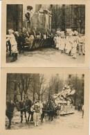 2 Photos Originales - Carnaval Et Cavalcade à Lunéville (Ca 1925-30 ?) - Luneville