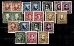Autriche YT N° 290/296 Neufs ** MNH Et Oblitérés. B/TB. A Saisir! - 1918-1945 1. Republik