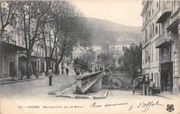 06-GRASSE- BOULEVARD DU JEU DE BALLON - Grasse