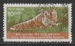 India 2000 Wildlife 10.00 R Multicoloured SW 1763 O Used - India