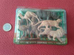 BLISTER SIN ABRIR FIGURAS DE PLÁSTICO PVC O SIMIL ANIMALES COMANSI MADE IN SPAIN ANIMALS FIGURES VER.TOYS JUGUETES SPAIN - Figurines