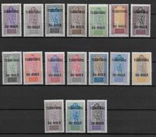 NIGER - YT N° 1/17 * - CHARNIERE LEGERE - COTE = 20 EUR. - Niger (1921-1944)