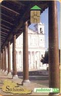 El Salvador - ELS-PUB-031C, Publitel, México DF, 3 ₡, Gemplus - GEM5 (Red), 2001, Used As Scan - El Salvador