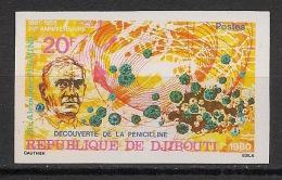 Djibouti - 1980 - N°Yv. 523 - Fleming - Non Dentelé / Imperf. - Neuf Luxe ** / MNH / Postfrisch - Djibouti (1977-...)