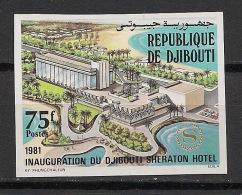 Djibouti - 1981 - N°Yv. 543 - Sheraton Hotel - Non Dentelé / Imperf. - Neuf Luxe ** / MNH / Postfrisch - Djibouti (1977-...)