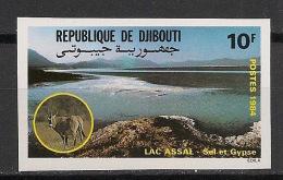 Djibouti - 1984 - N°Yv. 581 - Oryx - Non Dentelé / Imperf. - Neuf Luxe ** / MNH / Postfrisch - Djibouti (1977-...)