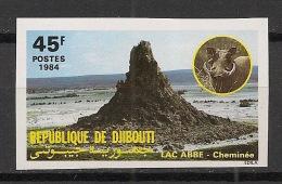 Djibouti - 1984 - N°Yv. 584 - Phacochère - Non Dentelé / Imperf. - Neuf Luxe ** / MNH / Postfrisch - Djibouti (1977-...)