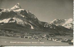 004974  Ehrwald Mit Sonnenspitze  1960 - Ehrwald