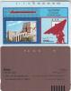 SYRIA(Tamura) - Aleppo Castle, Satellite Dish, S.T.E. Telecard First Issue 1000 Units(brown Reverse), Used - Syria