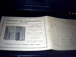 Carnet Vide Pour  Classer  Des  Timbres Postes Marque  Thiaude - Stamps